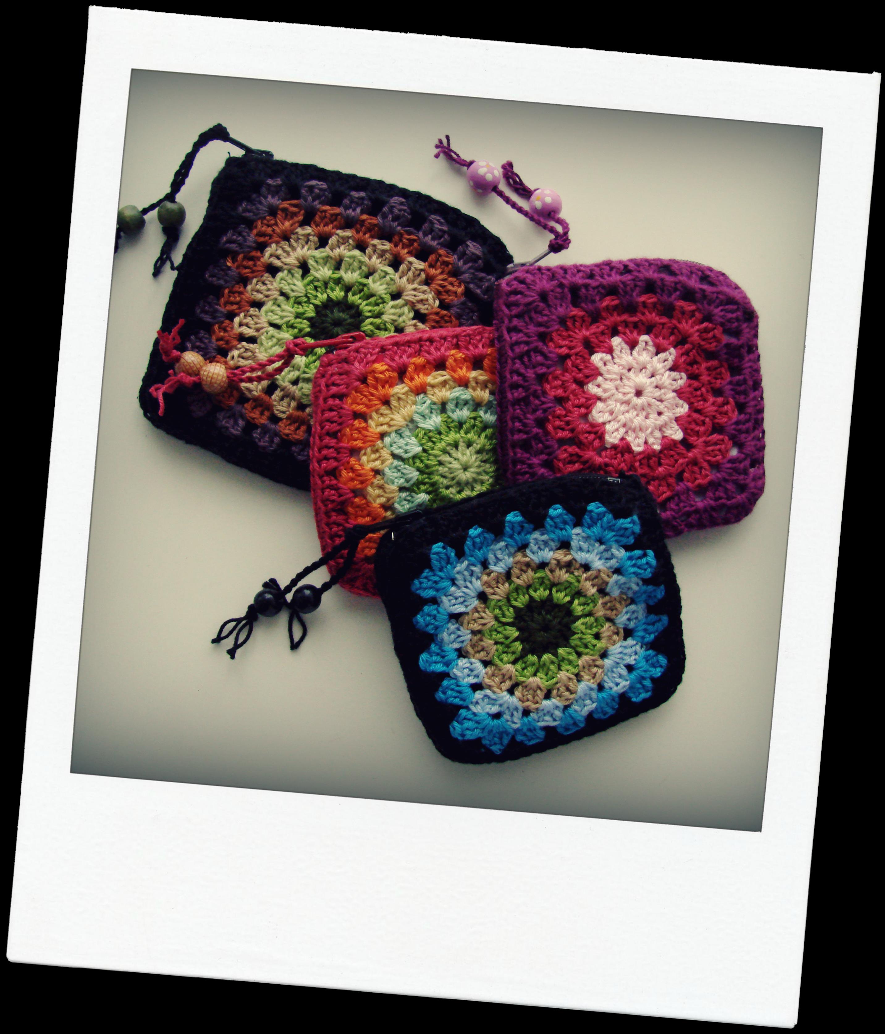 Crochet Coin Purse : coin crocheted purses Crochet! Pinterest