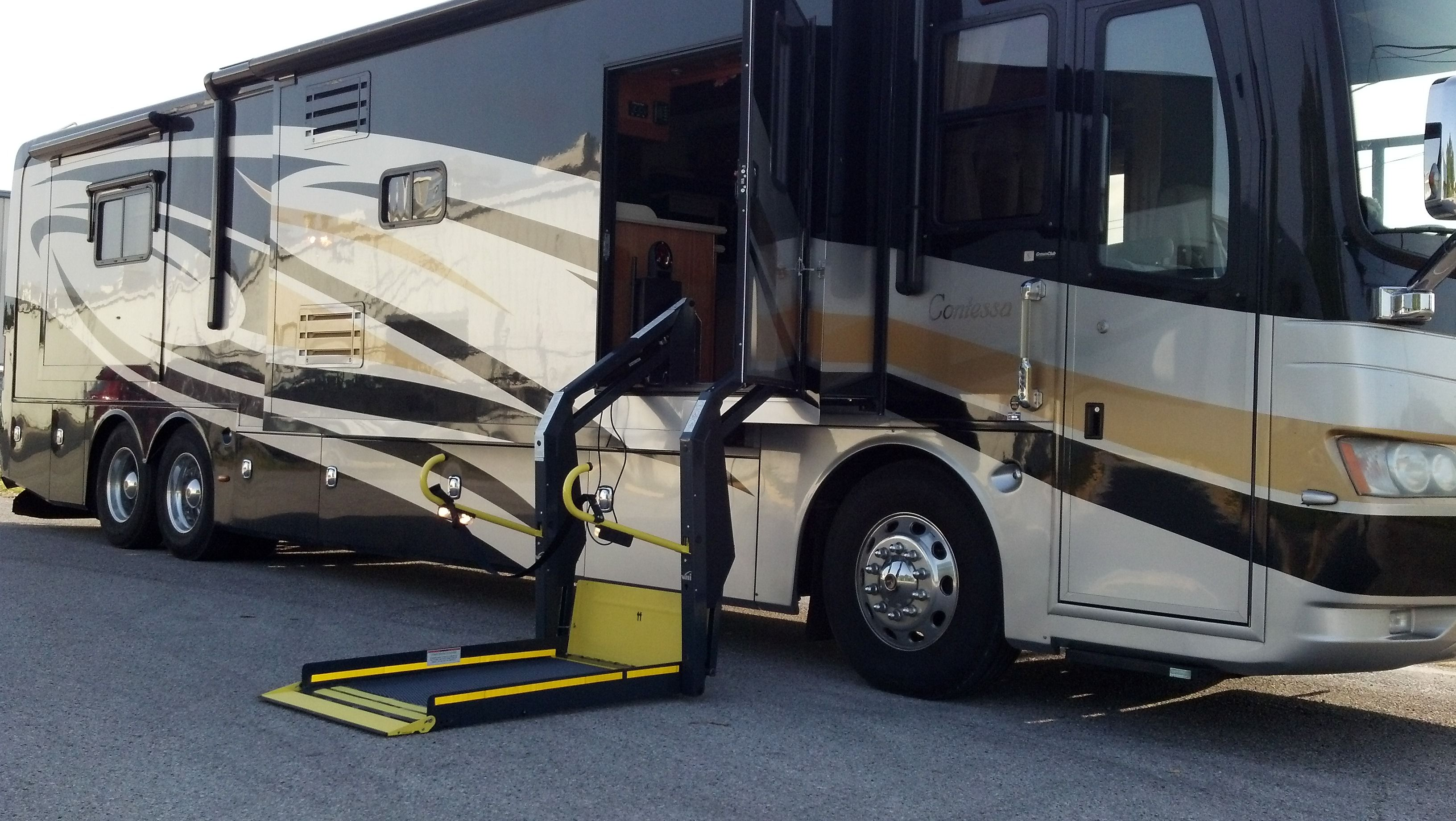 Wheelchair accessible motorhomes wheelchair wiring Wheelchair lift motor