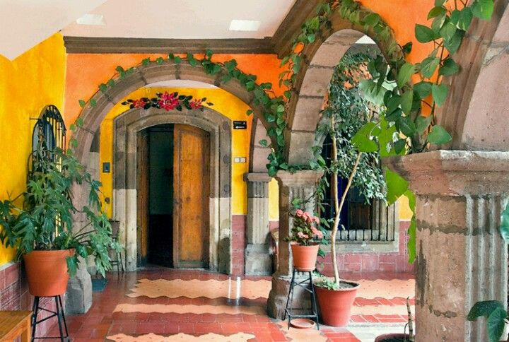 Spanish Style Patio A Taste Of Old Mexico Pinterest
