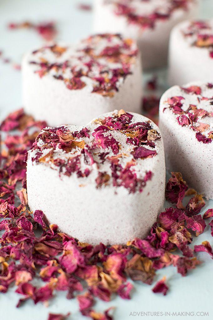 DIY: Heart Bath Bombs (For Valentine