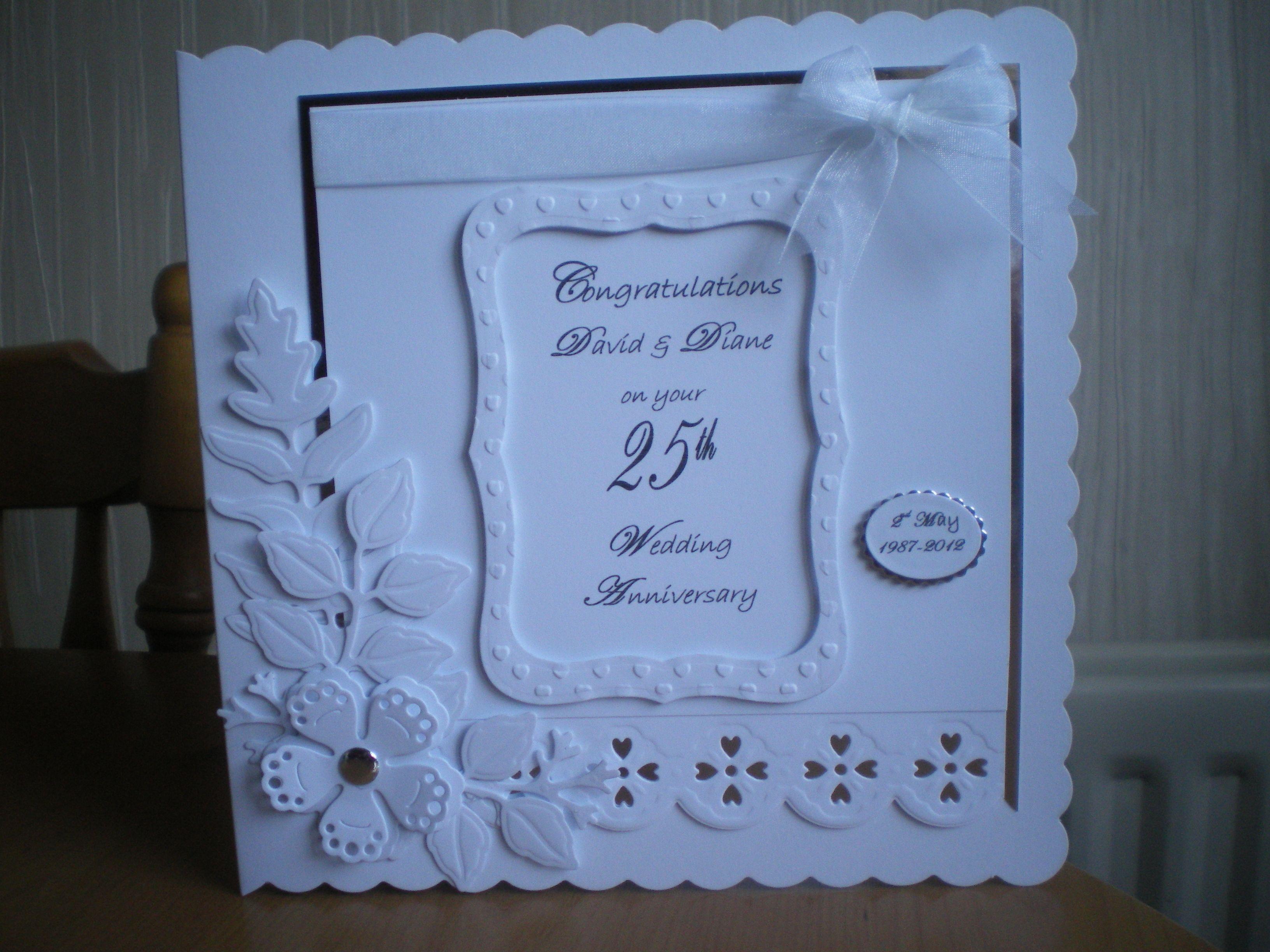 Th wedding anniversary cards pinterest