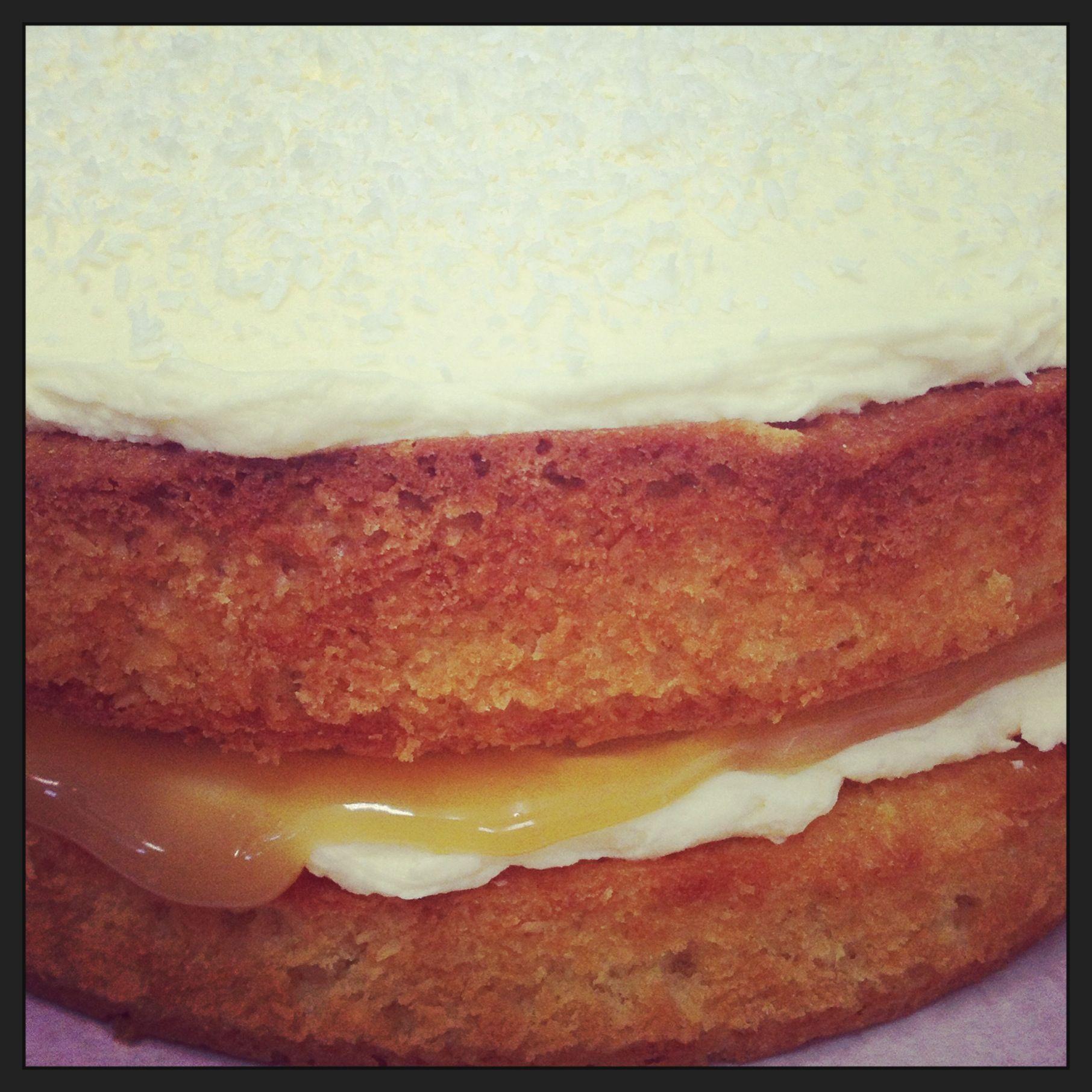 Coconut & Lime Cake | KitschnBake Cakes | Pinterest