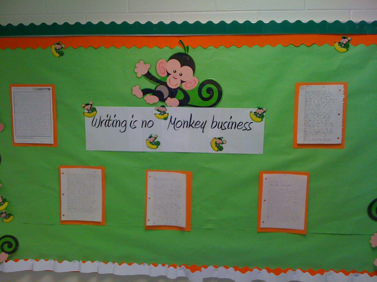 writing bulletin boards