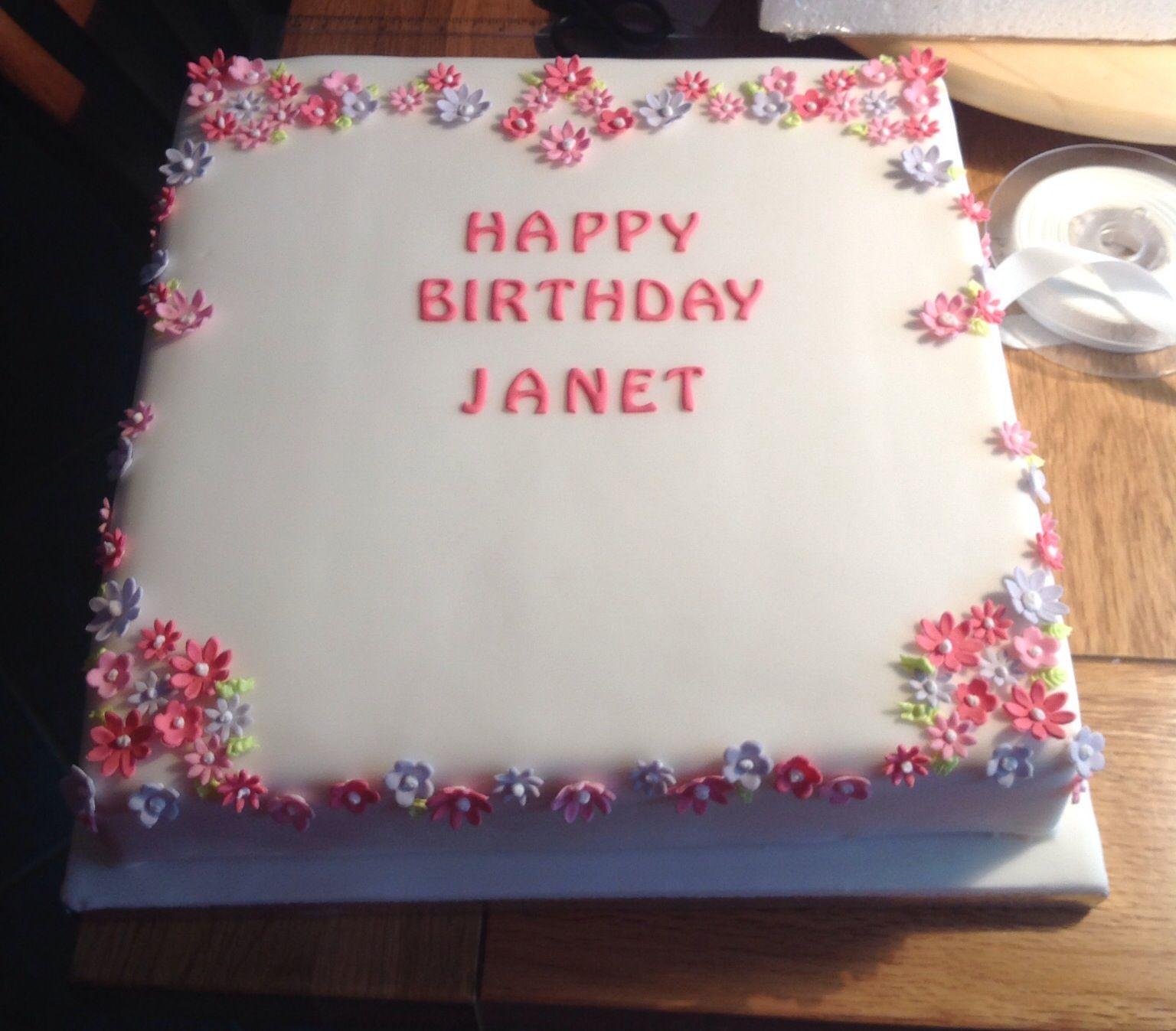 Simple birthday cake food ideas Pinterest