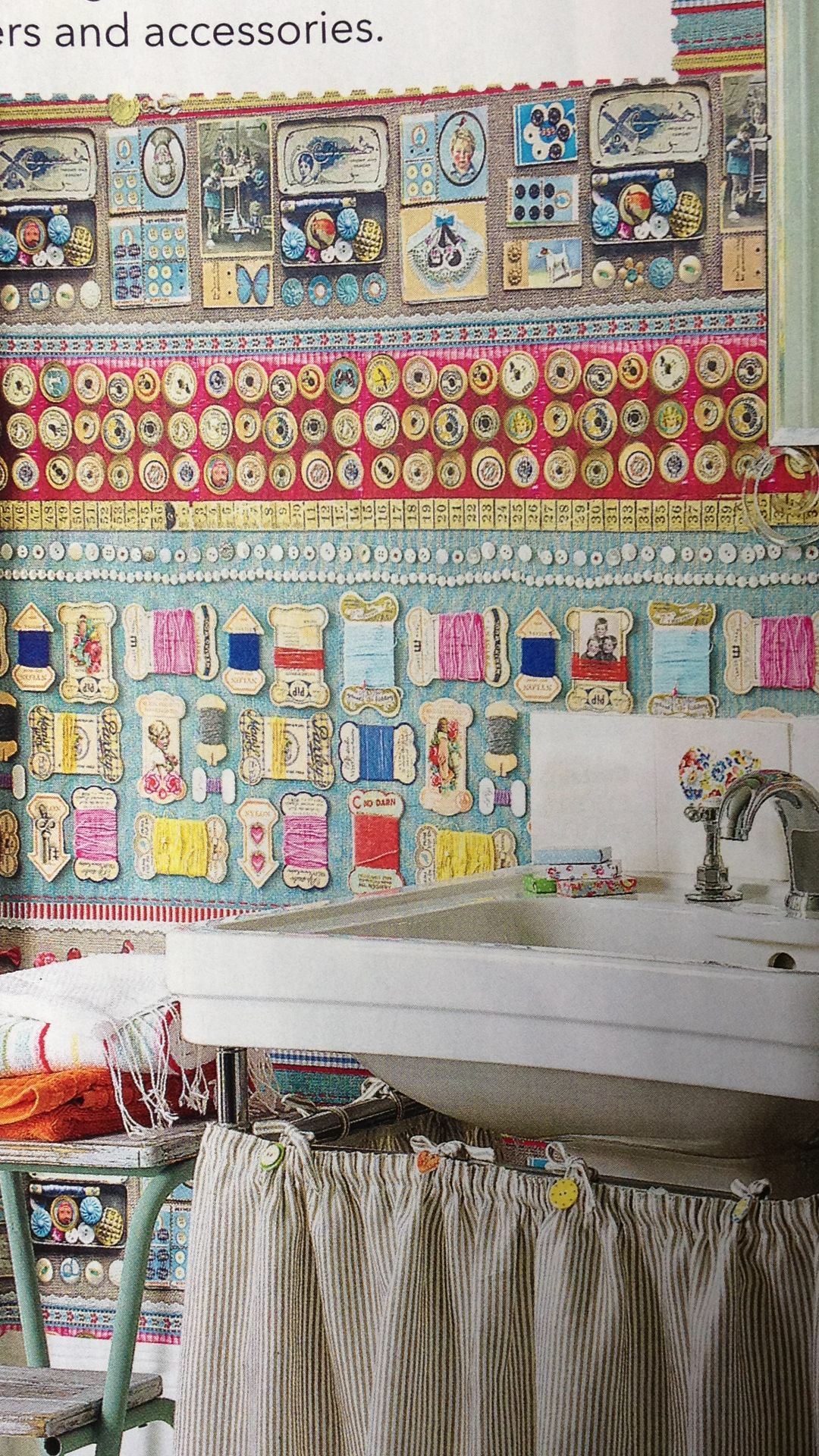 Sewing wallpaper home amp away pinterest