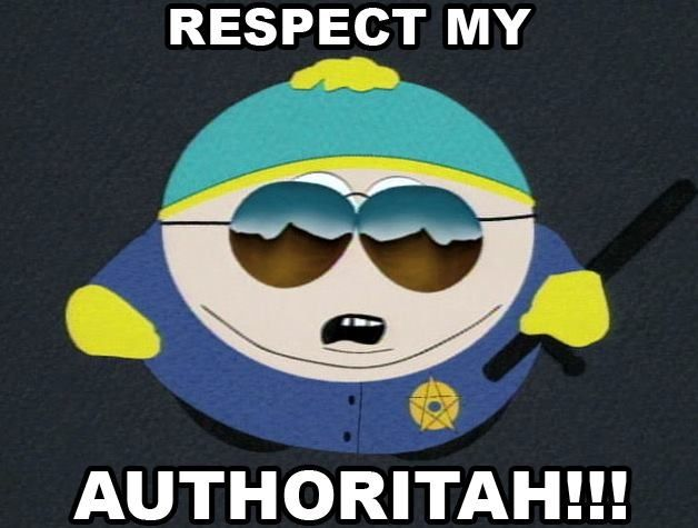 Respect my Authority | Just for laughs | Pinterest