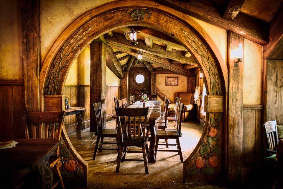 Interior Hobbit Hole Nz Hobbit Holes And Hobbit