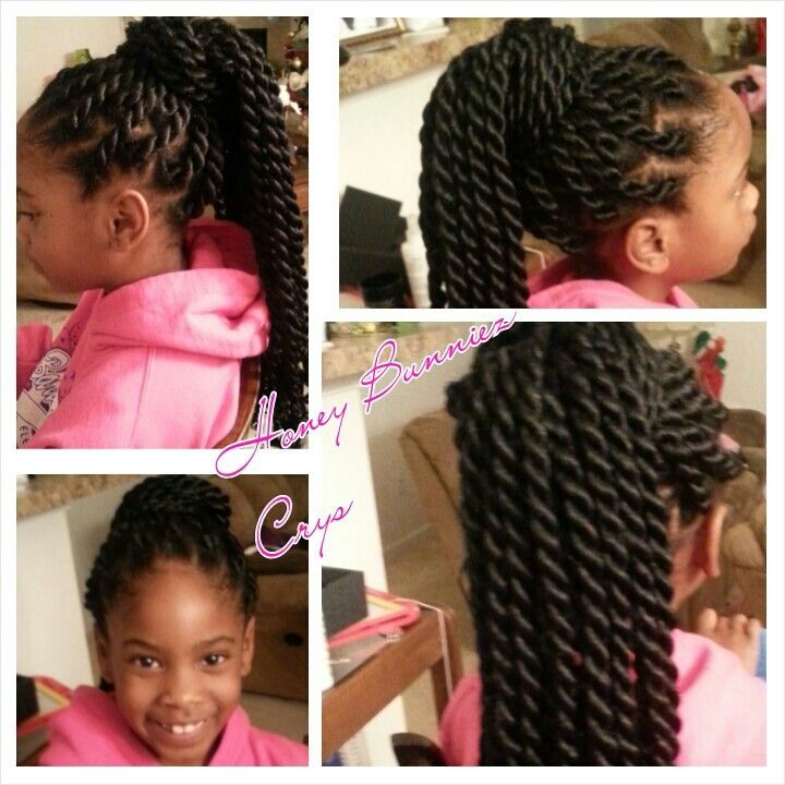 Crochet Hair Styles For Little Girl : Silky Kanekalon Havana Twists Braid Extensions Pinterest