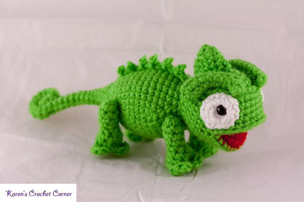 Crochet Chameleons : Chameleon Amigurumi Crochet ? Amigurumis ? Pinterest