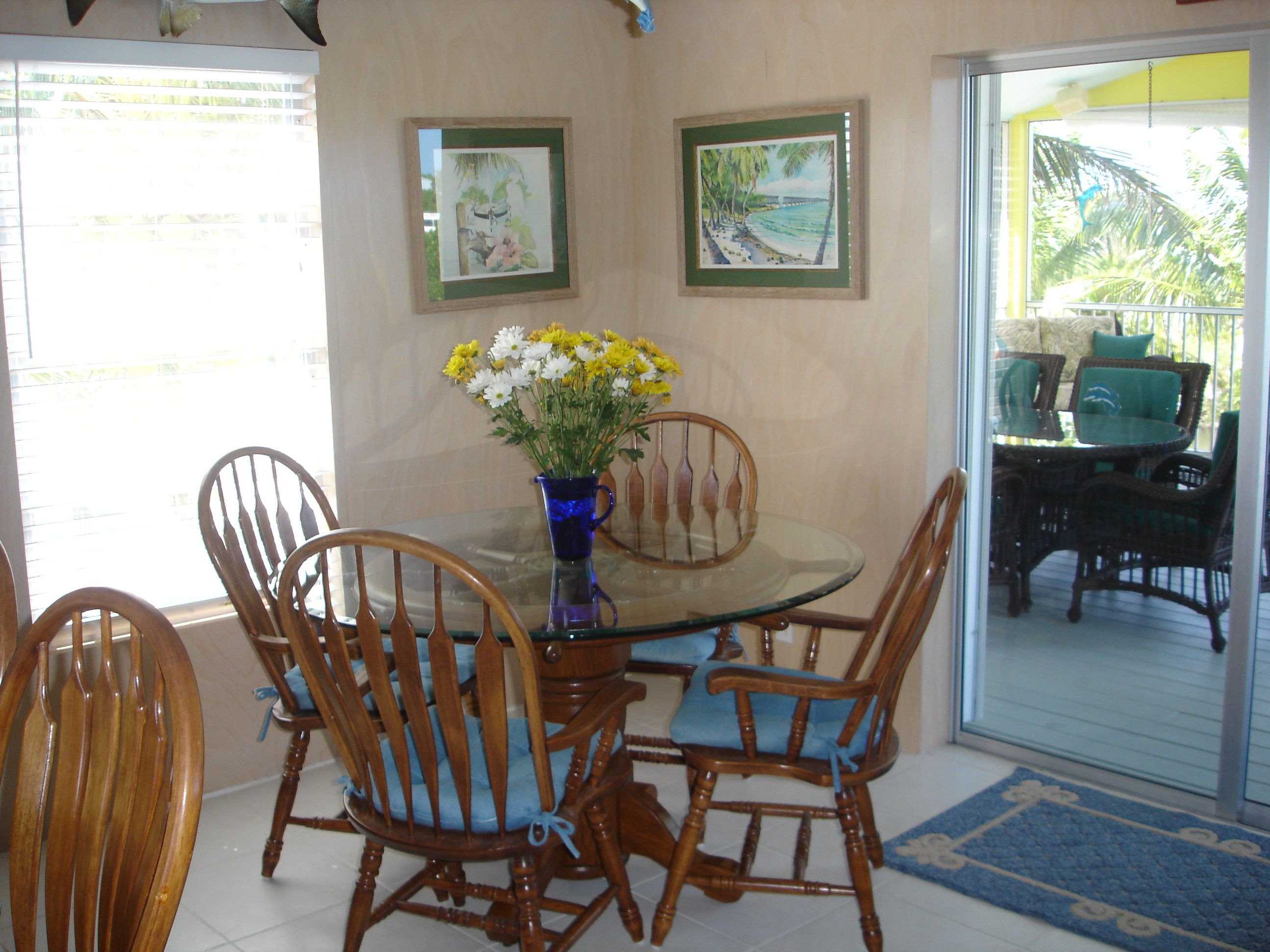 Dining area florida keys vacation home decorating ideas Florida home decorating ideas