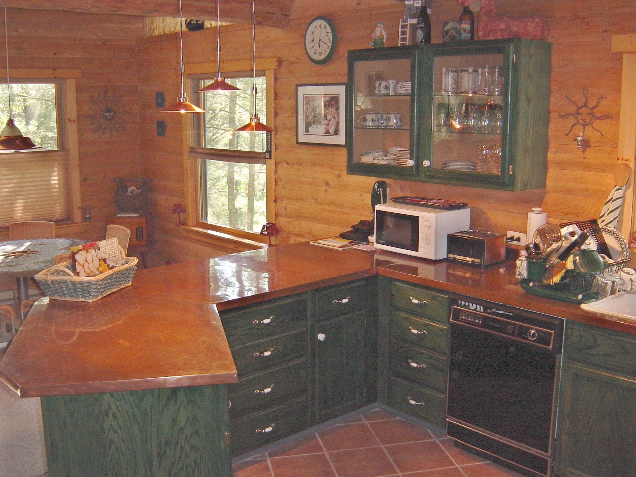 Copper Countertop Kitchen Dining Entry Foyer Pinterest