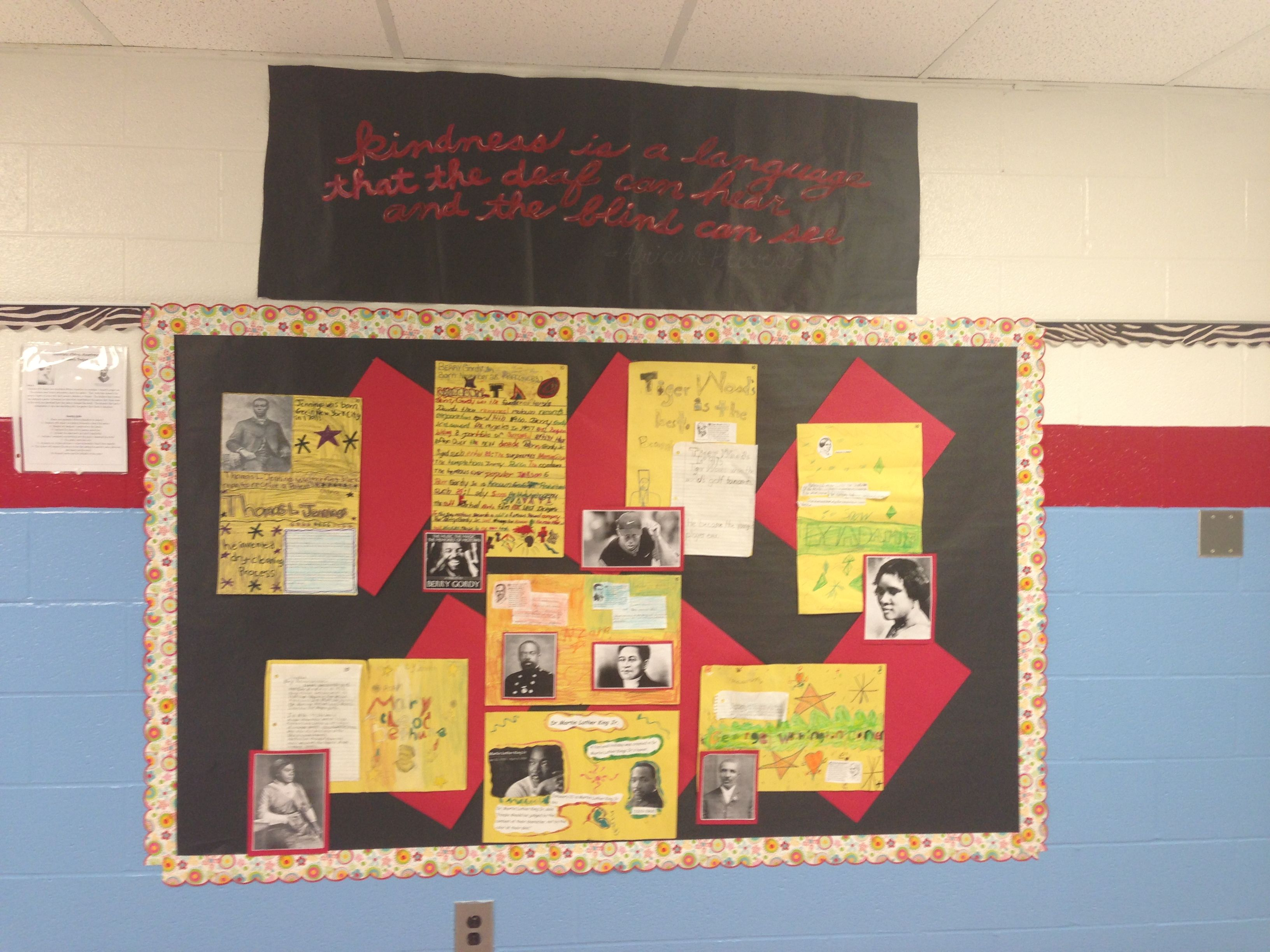 History Classroom Decoration : Black history month bulletin board ideas download