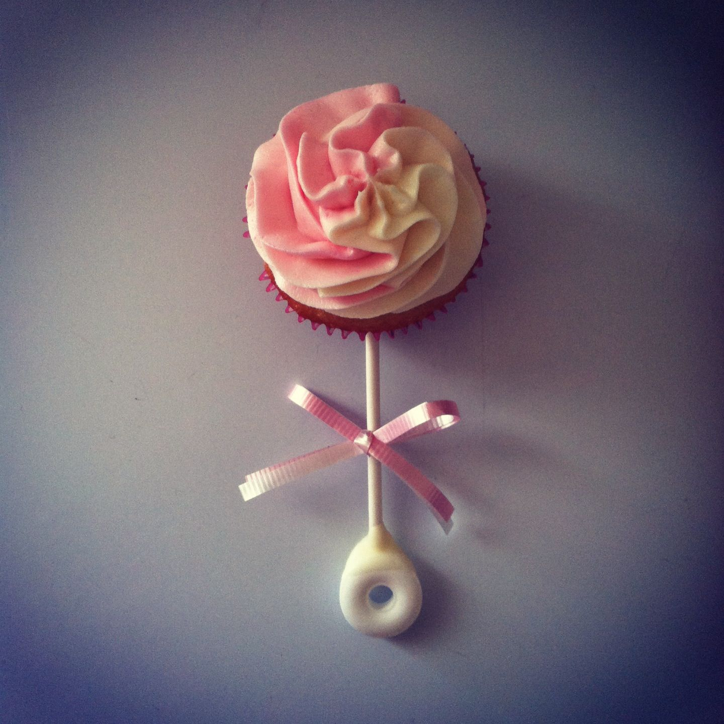 Baby shower rattle cupcakes | **Babies** | Pinterest