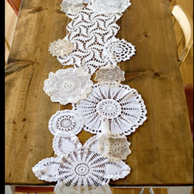 table  Share wedding runner paper