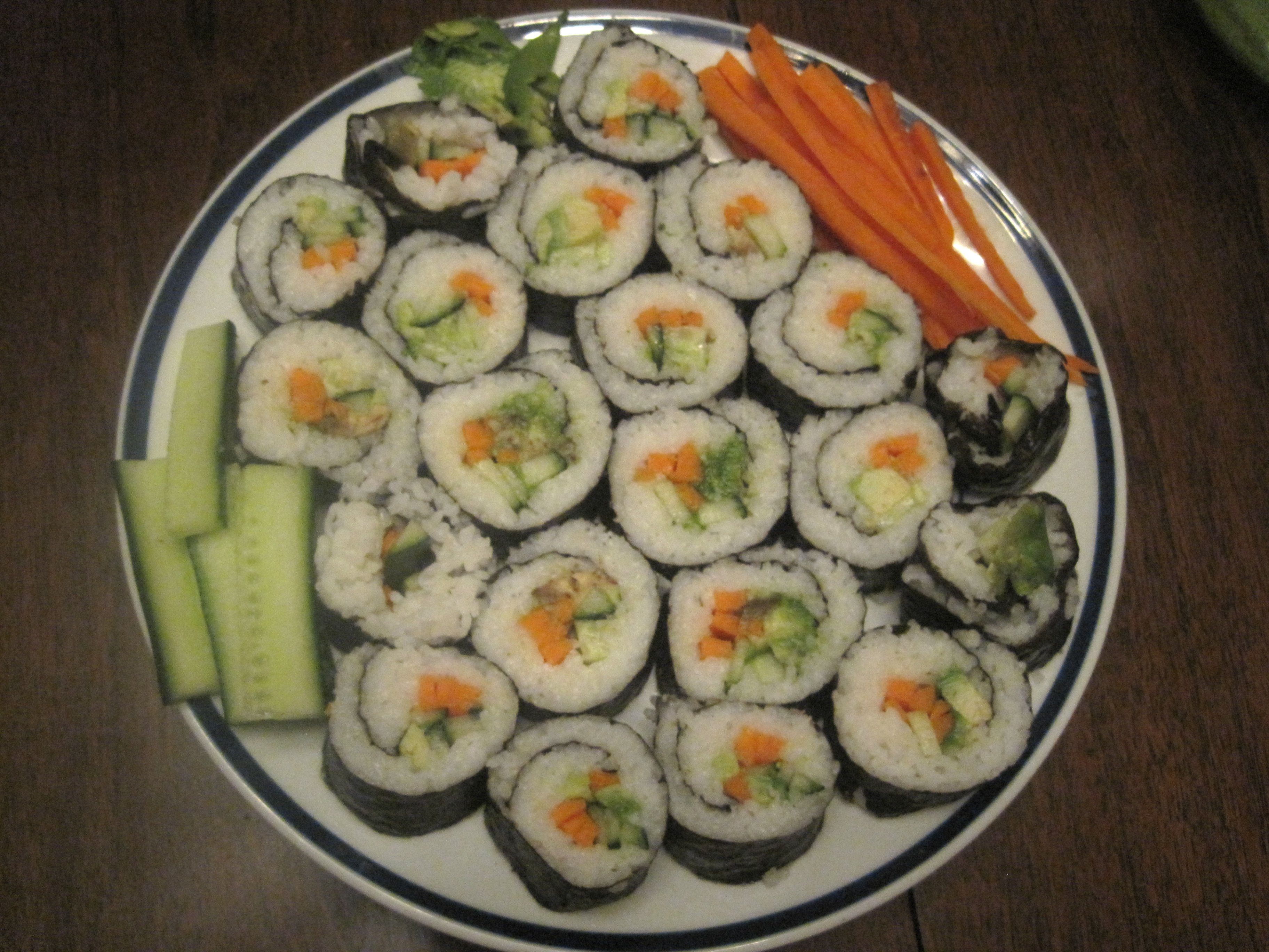 Cucumber And Avocado Summer Rolls With Mustard-Soy Sauce Recipe ...