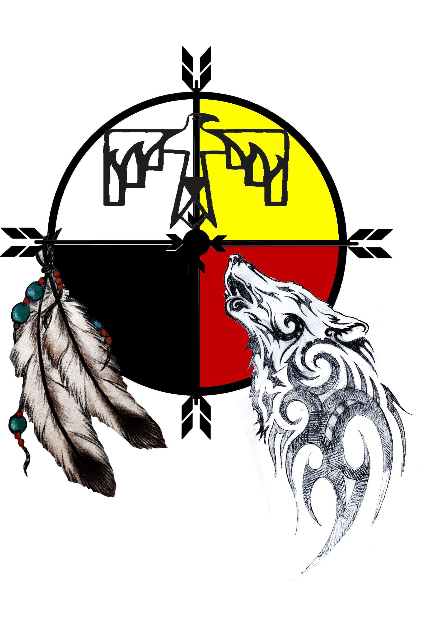 Thunderbird animal tattoo
