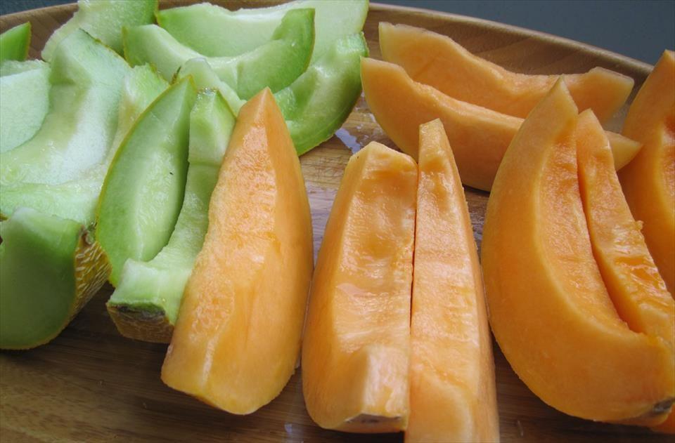 Orange honeydew and Galia melon Daniels Board Pinterest