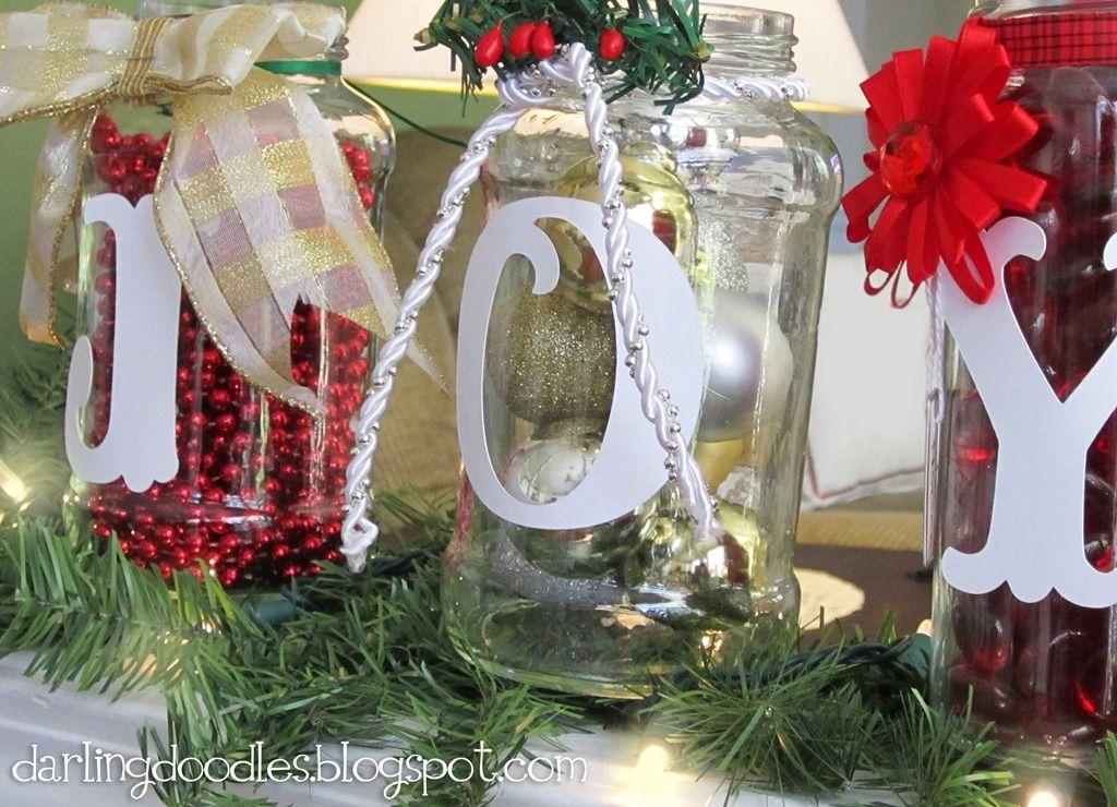 Decorating Ideas > Christmas Jar Decorating  Ideas Christmas Decorating ~ 195421_Decorating Christmas Jars Ideas