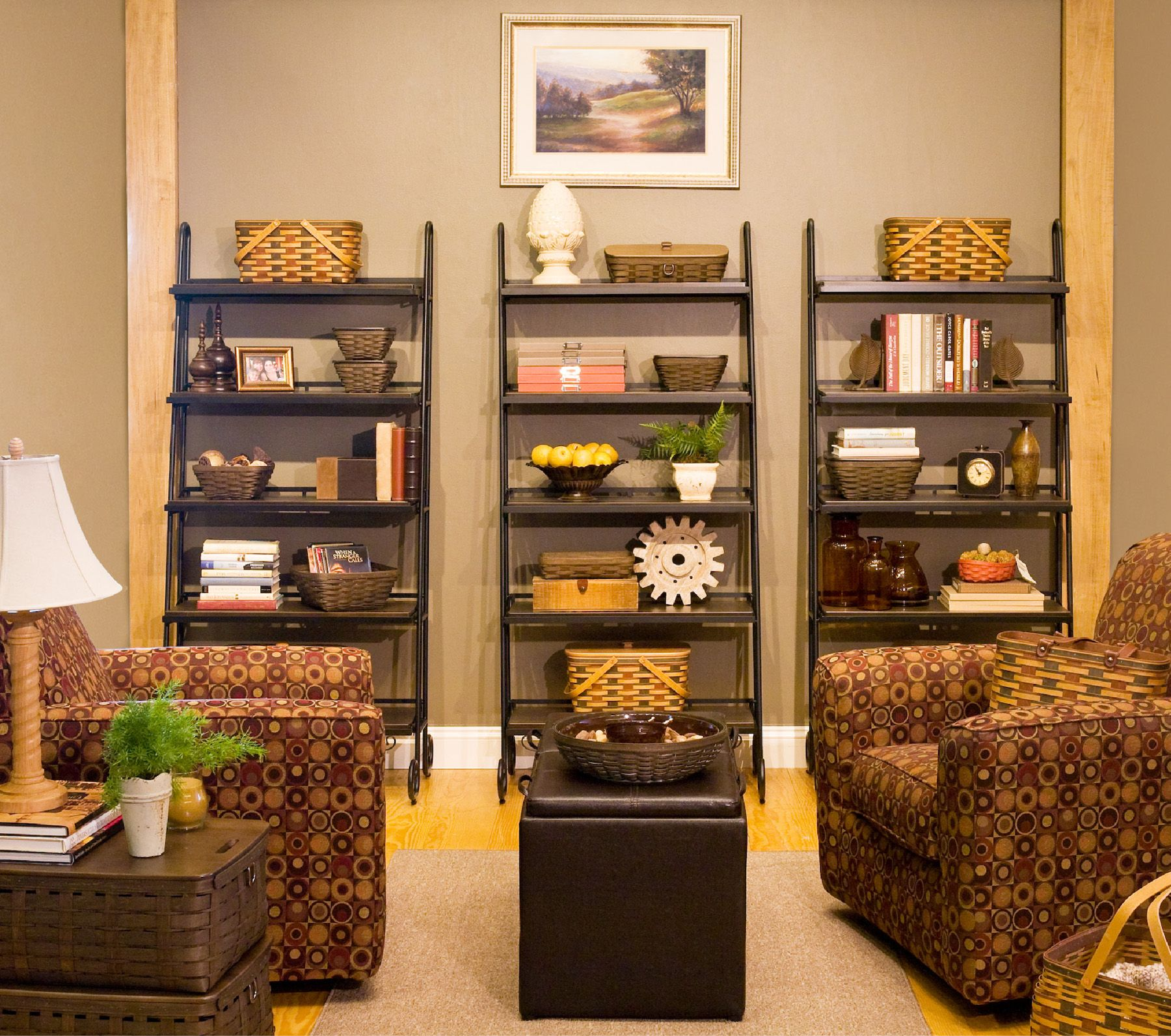 Ways to organize your living room longaberger pinterest for Organize small living room