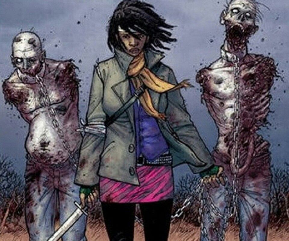 Michonne, The Walking Dead comic book | Art | Pinterest