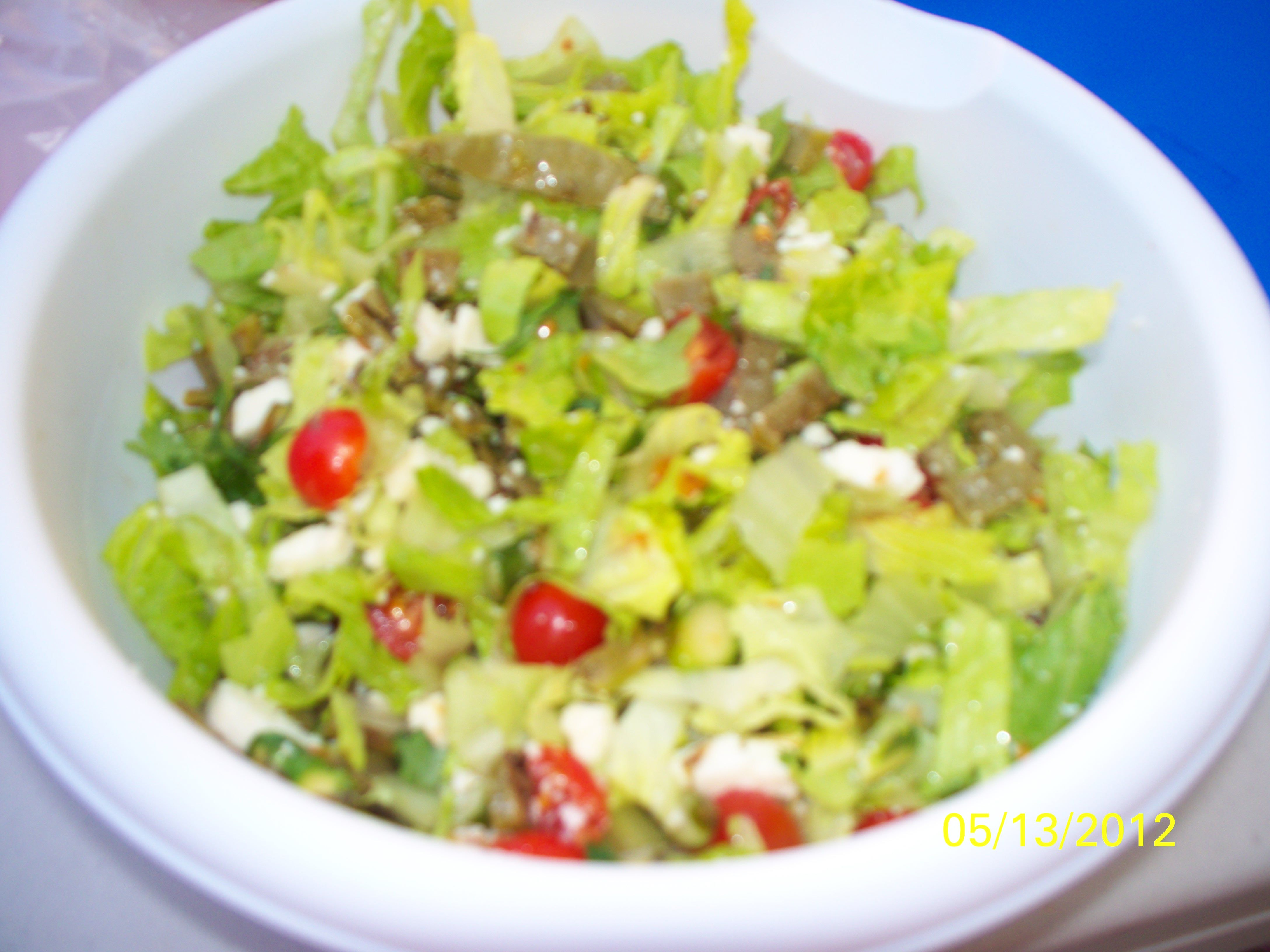 GRILLED CACTUS SALAD"