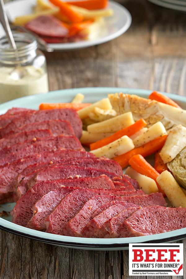 Watch Roast Beef with Mustard and Horseradish Crust Recipe video