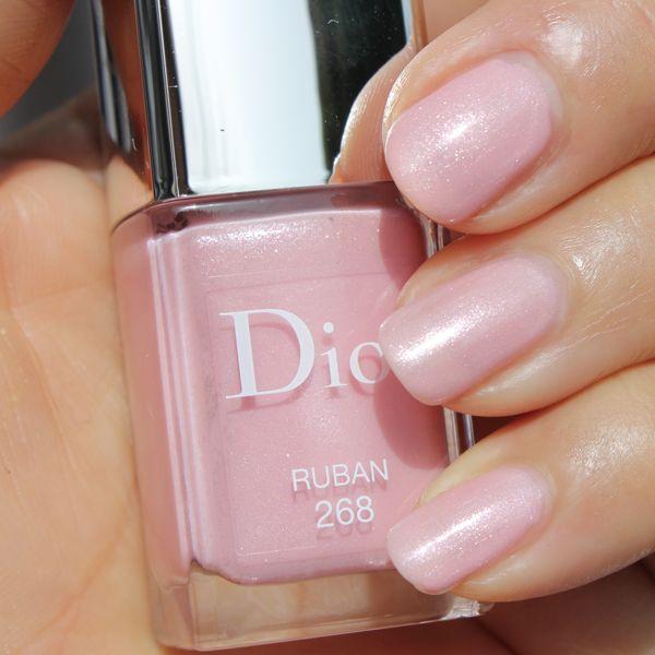 dior ネイル ピンク