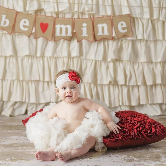 valentine photo baby ideas