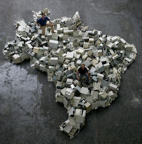 brazil by vik muniz | installations i sculpture