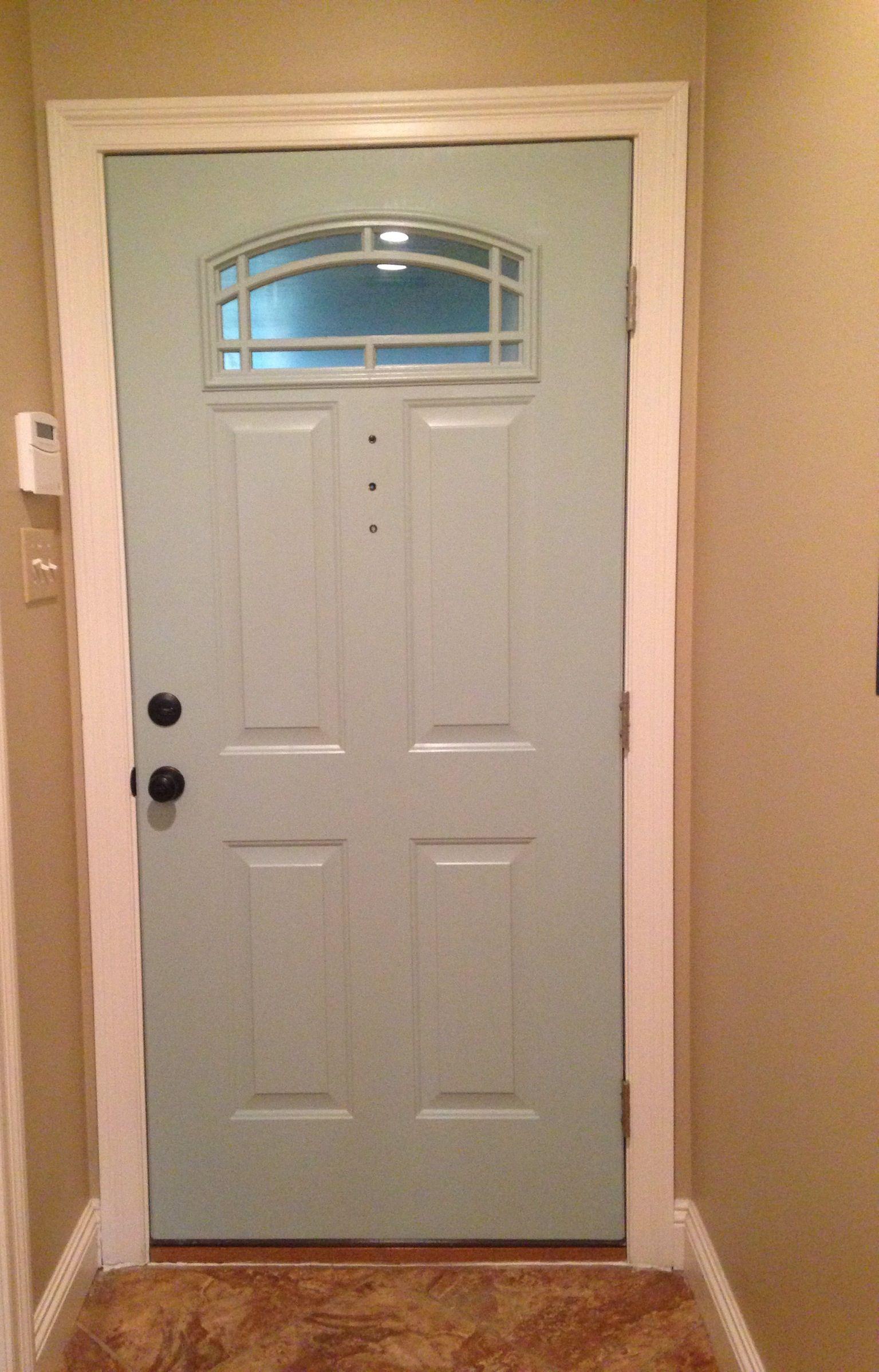 Back door to garage sw quietude home pinterest for Back doors for homes