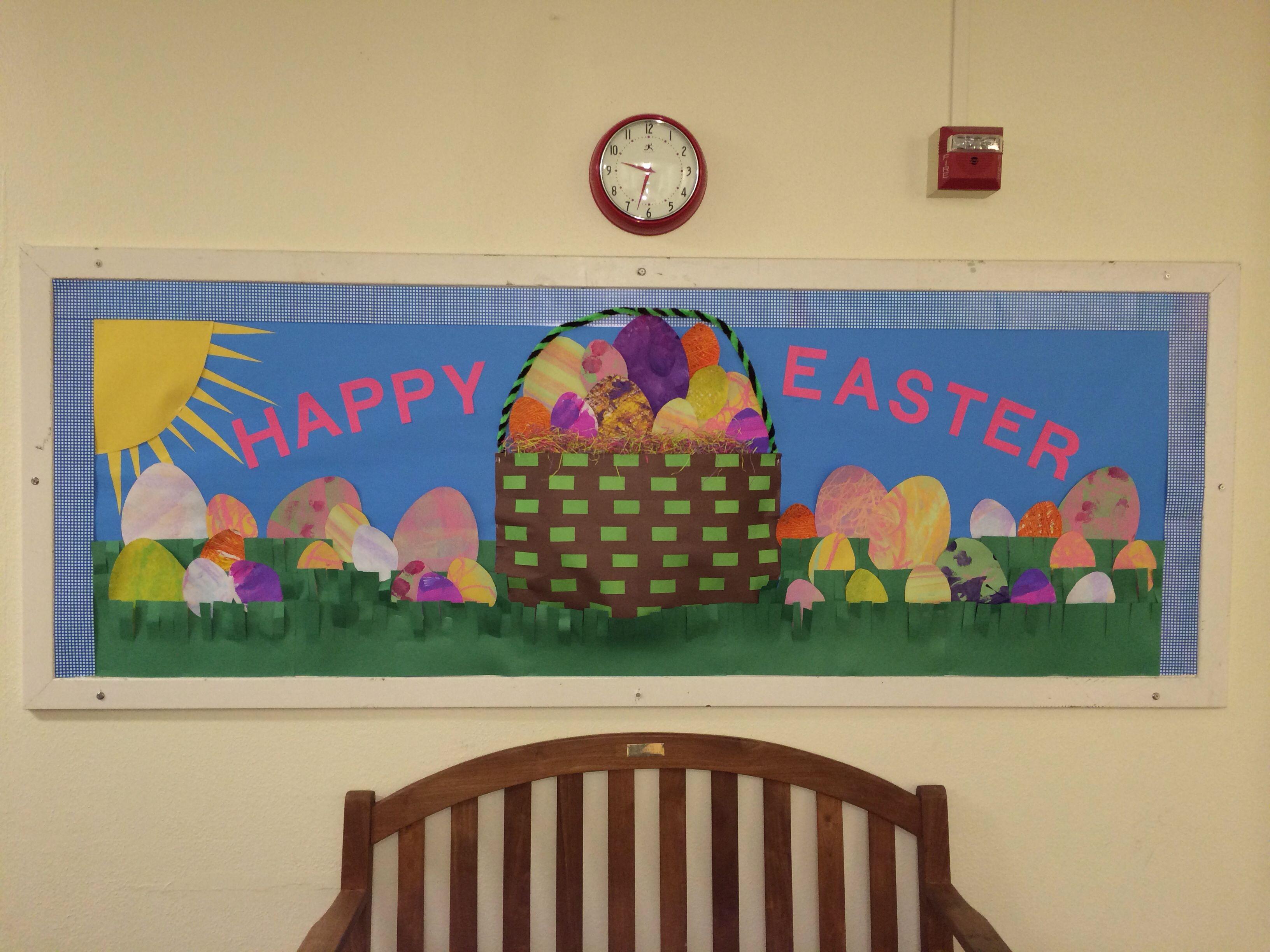Easter bulletin board school ideas pinterest