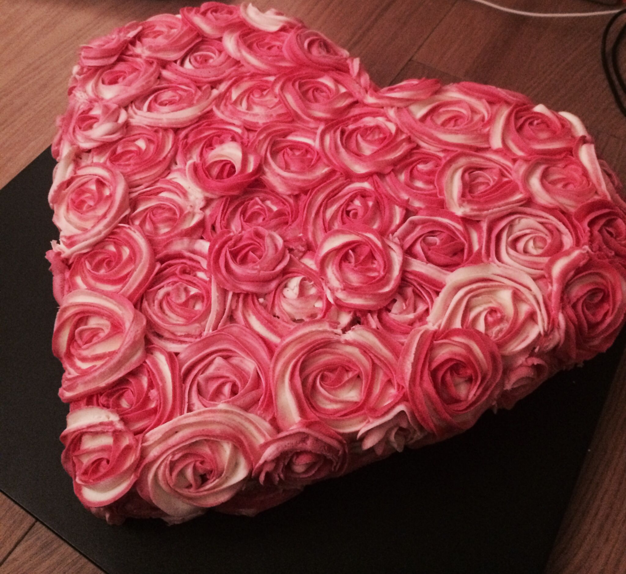 Rose Swirl Cake Design : #Rose Swirl Cake #engagement Cake Decorating Pinterest