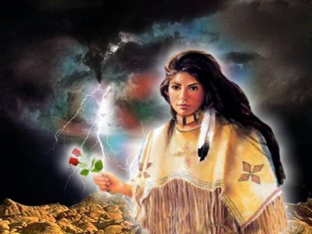 Native American Indians Women native american
