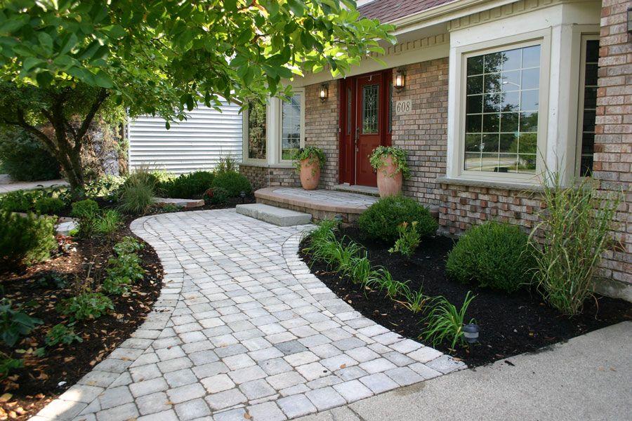 Nice walkway ideas for plants landscape ideas east for Plants for walkway landscaping ideas