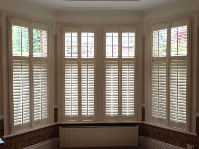 Pin by long island shutters on bay window shutters pinterest for Bay window interior