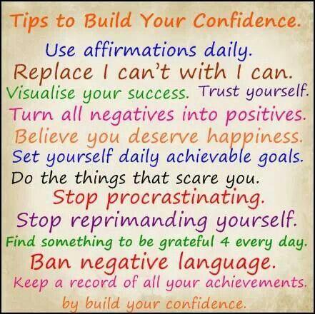 Self Esteem Building Up
