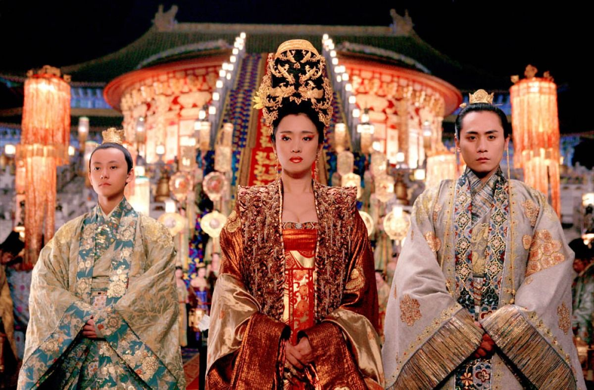 Curse of the golden flower Movie Costumes