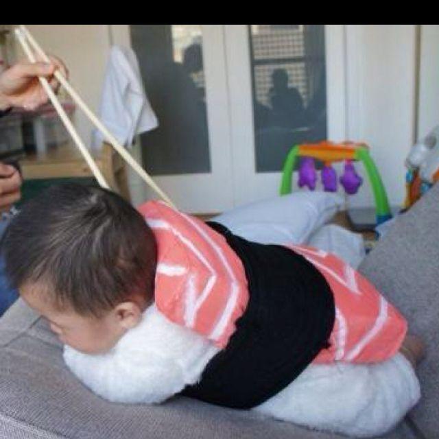 Baby Sushi Halloween Costume Tran Twins