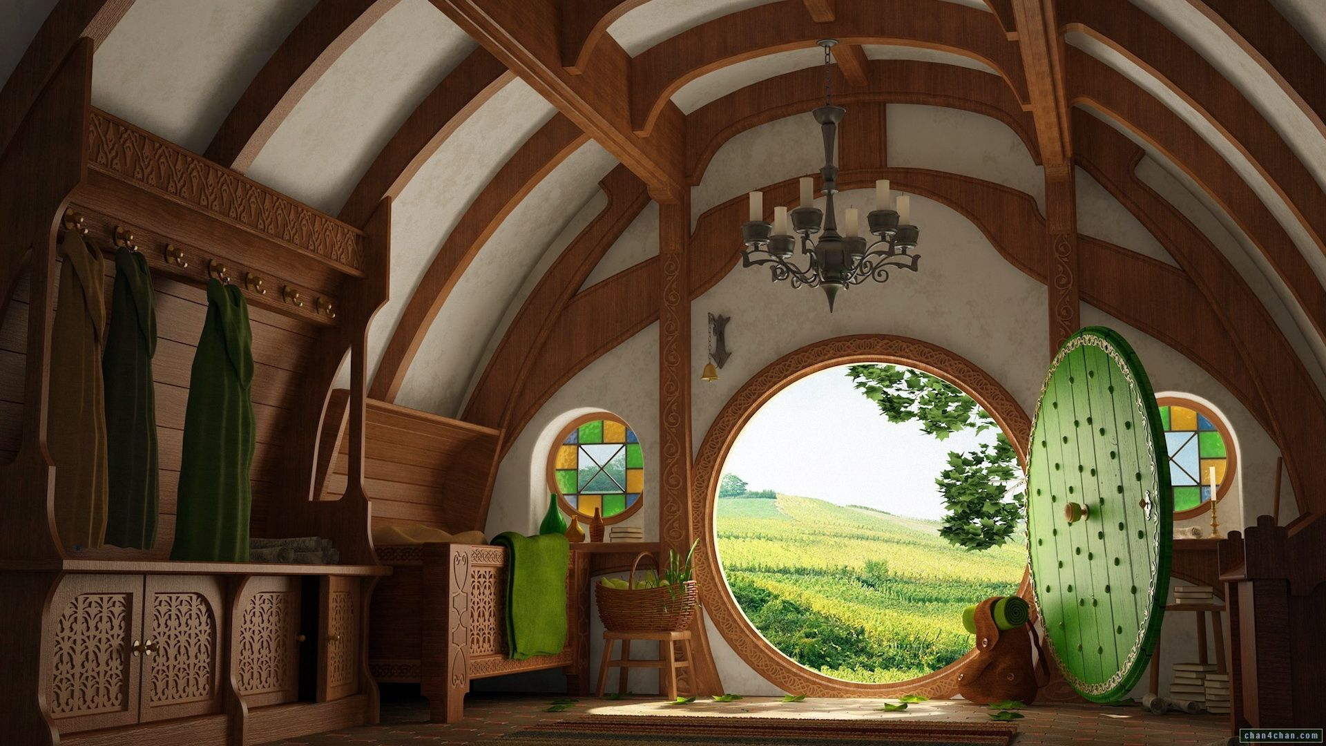 hobbit house occupied architecture pinterest