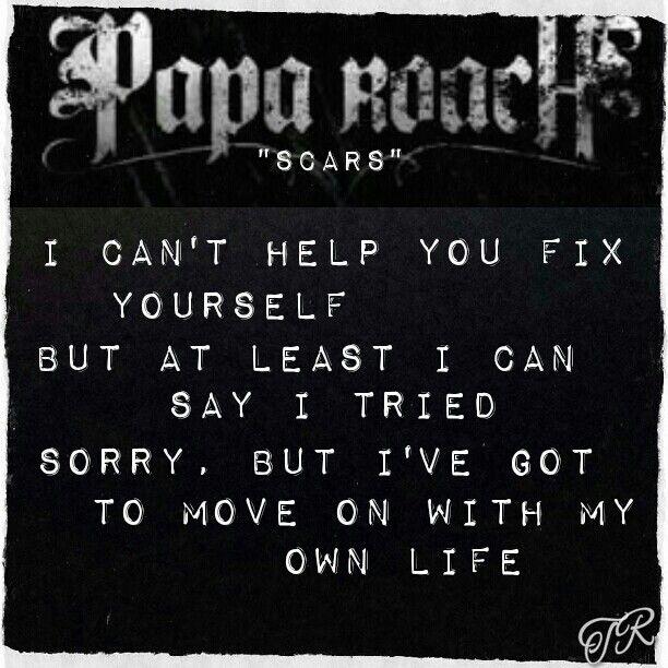 lyric papa roach to b e loved: