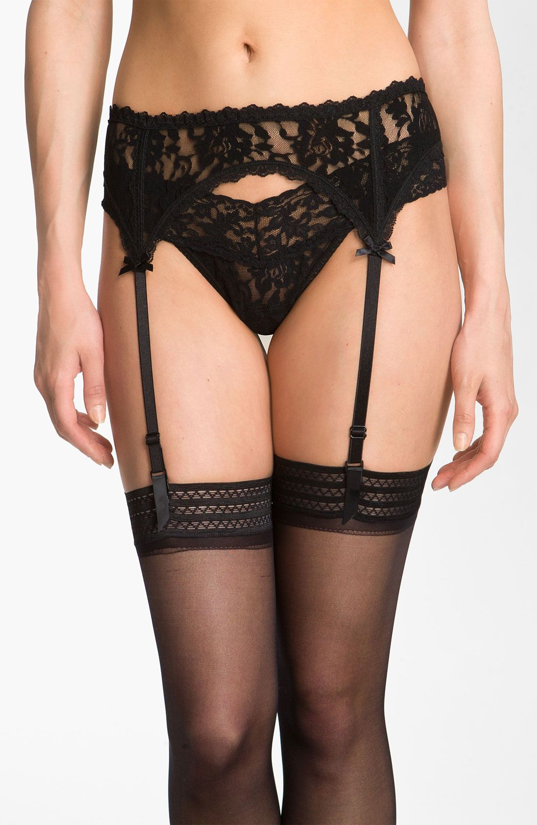 Old fashioned garter belts