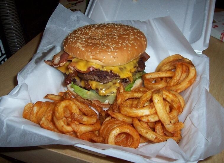 Old fashion cheeseburger and fries | DELISH | Pinterest