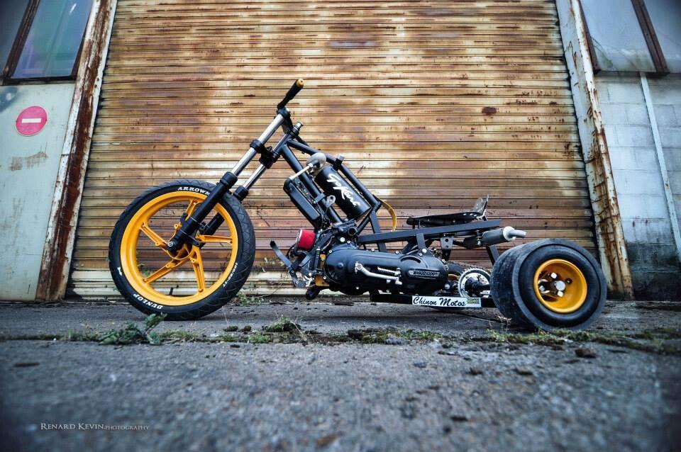 Drift trike с мотором своими руками 74