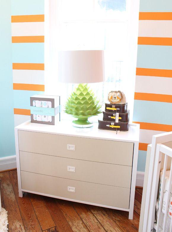 Chambre Bebe Orange. Une Dcoration De Chambre Enfant Home Made ...