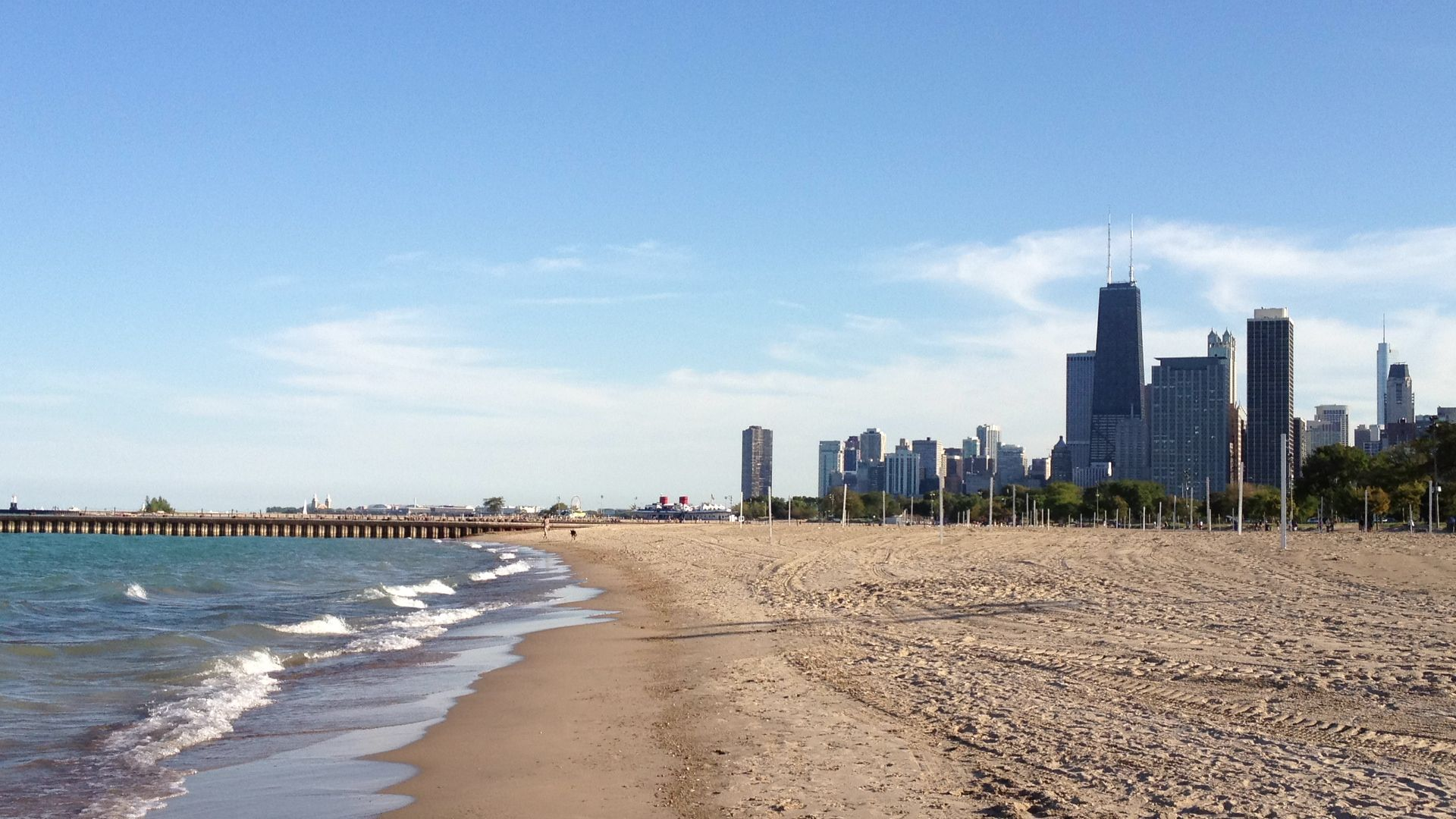 North Avenue Beach Chicago Fourth Of July