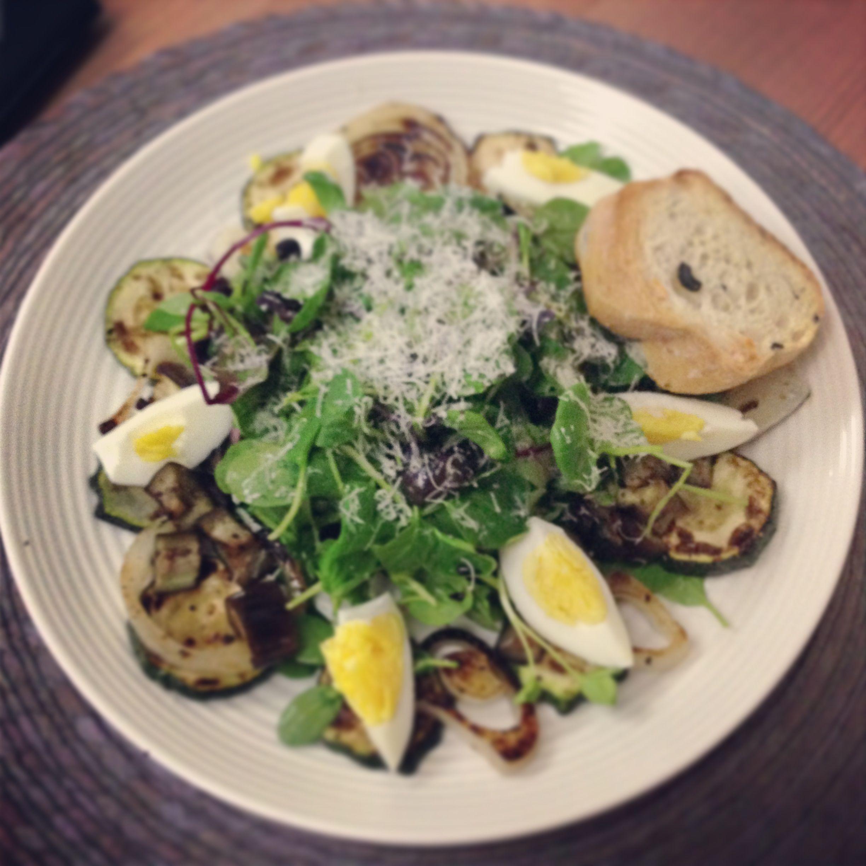 Grilled vegetable salad | Boonana Cafe | Pinterest