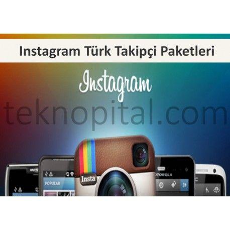 En ucuz fiyatlarla Instagram Türk takipçi satın alın. | Instagram ...