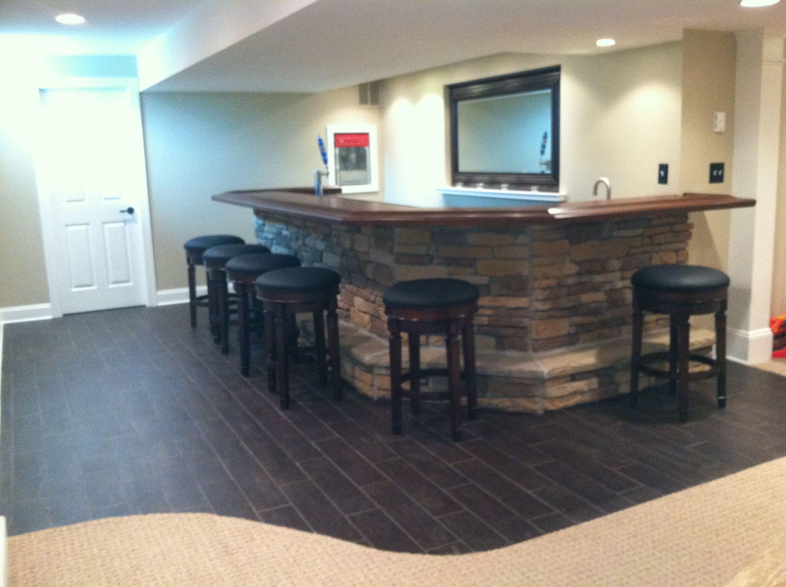 Basement Bar For The Home Pinterest
