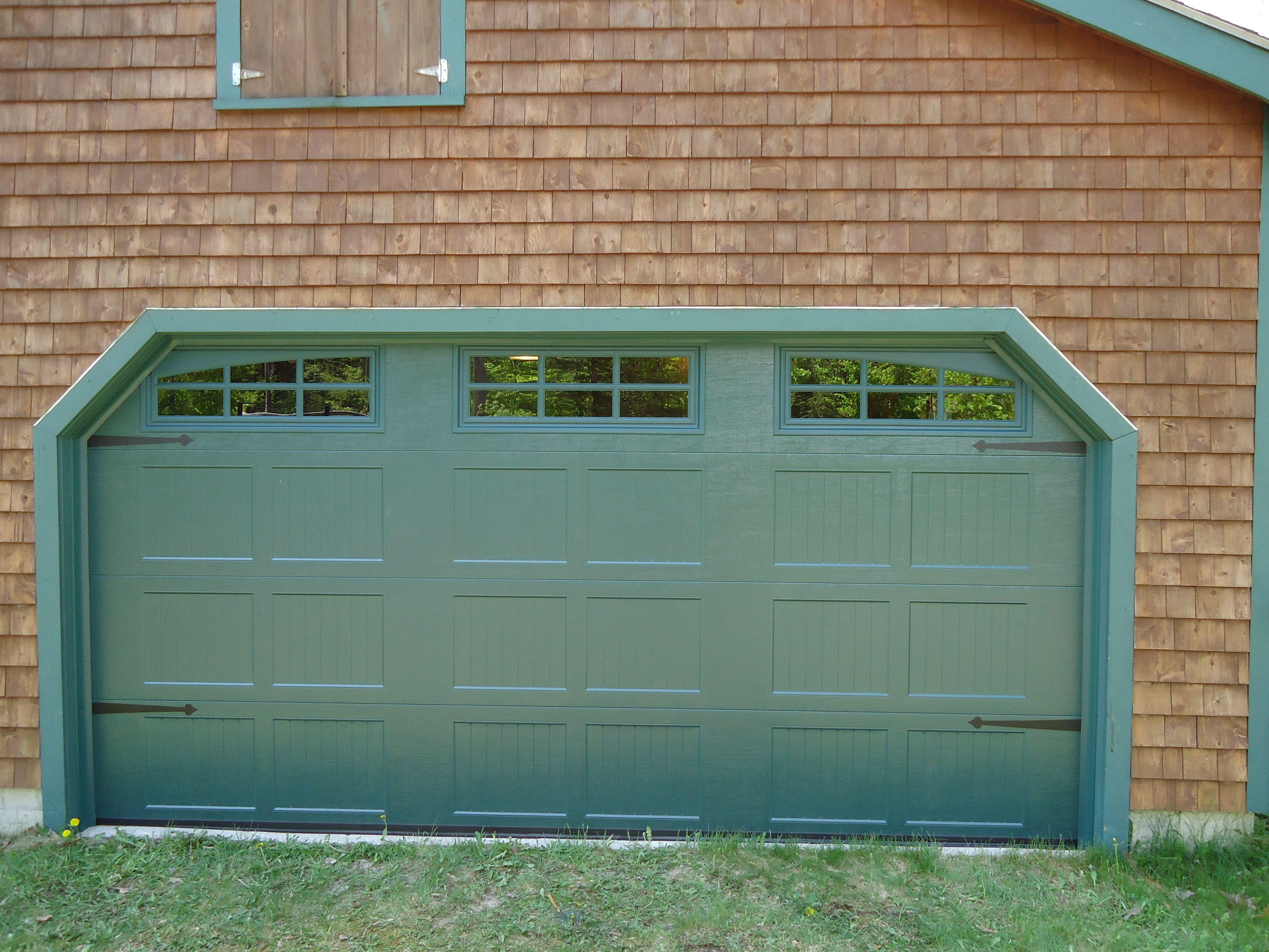 3240 #6F4528 Great In Green! Beautiful Garage Doors Pinterest pic Beautiful Garage Doors 38014320