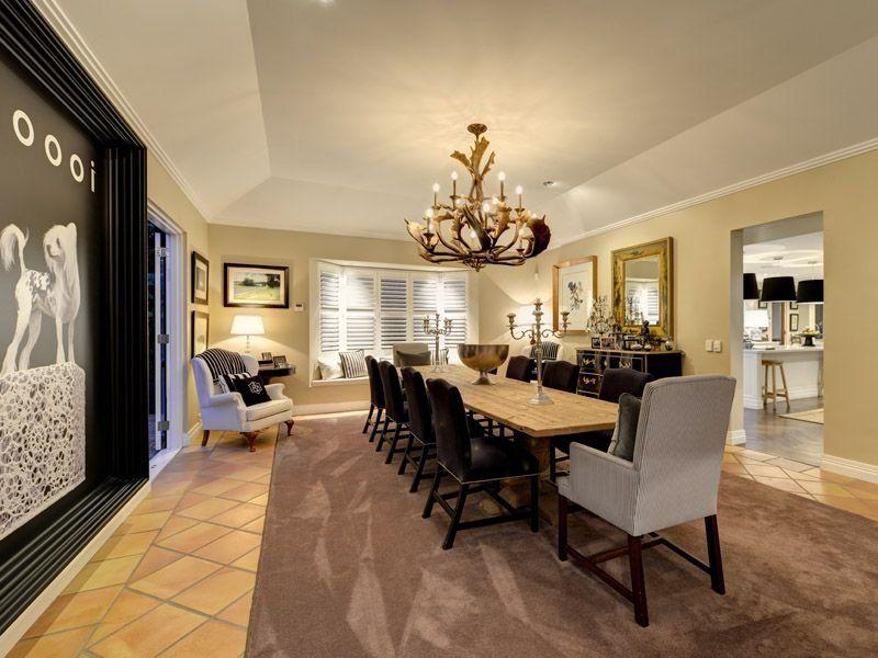 Formal dining room provincial modern pinterest for Traditional dining room pinterest